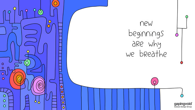 new beginnings are why we breathe