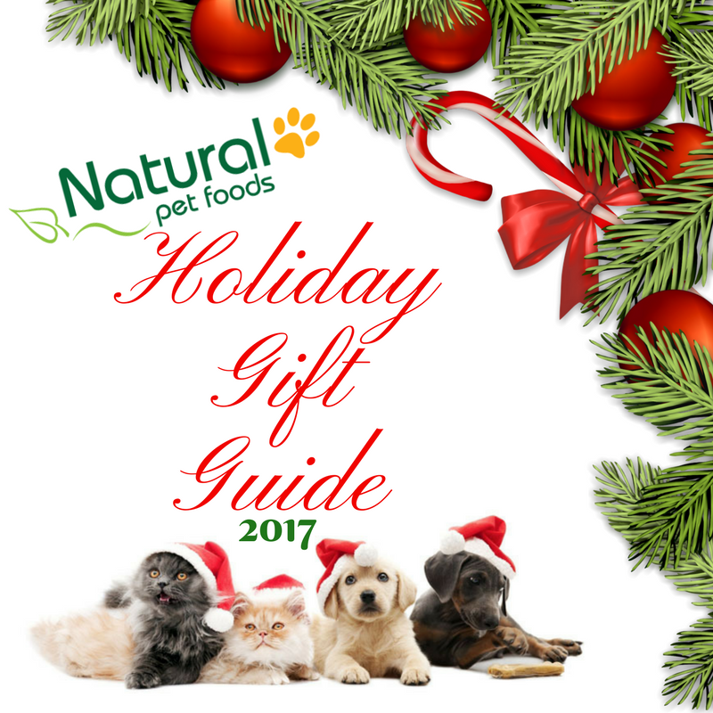 Natural Pet Foods Holiday Gift Guide 2017