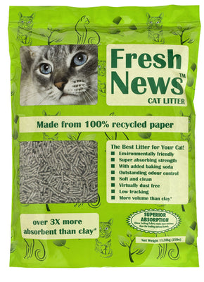 Fresh News Premium Paper Cat Litter