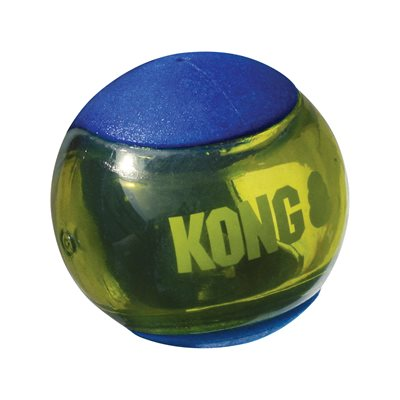 KONG Squeezz Action Blue Medium 3-Pack