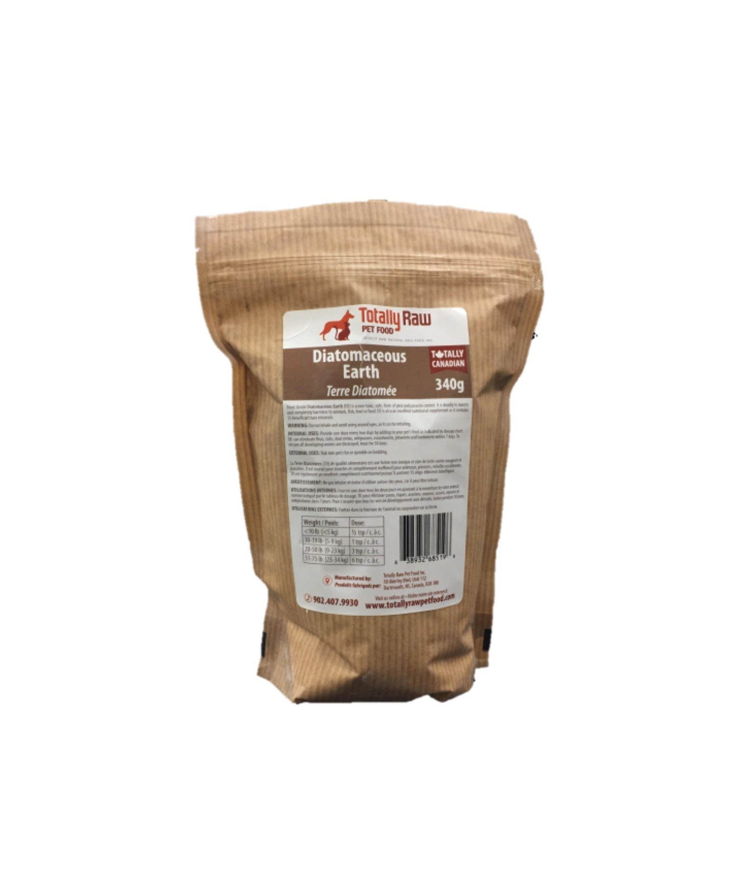 Totally Raw - Diatomaceous Earth - 340g