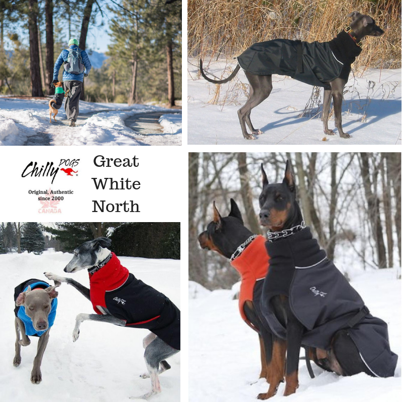 Chillydogs Great White North Winter Coat Natural Pet Foods