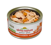 Almo Nature - HQS Natural - Salmon and Carrots in broth 2.47 oz