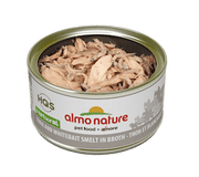 Almo Nature - HQS Natural - Tuna and Whitebait and Smelt in broth 2.47 oz