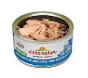 Almo Nature - HQS Natural - Tuna in broth Atlantic Style 2.47 oz / 70g