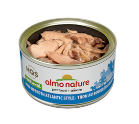 Almo Nature - HQS Natural - Tuna in broth Atlantic Style 2.47 oz /