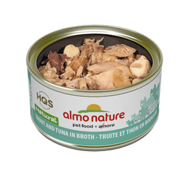 Almo Nature - HQS Natural - Trout and Tuna in broth