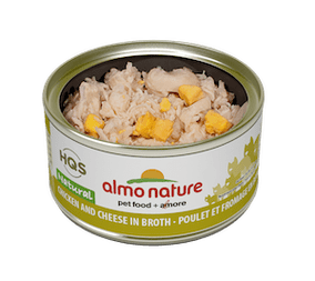 almo nature - hqs natural - chicken and cheese in broth