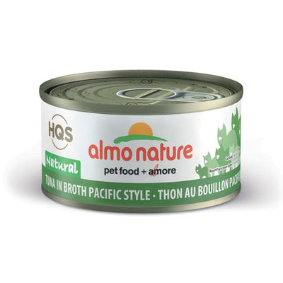 Almo Nature - HQS - Tuna In Broth Pacific Style 2.47 oz / 70g