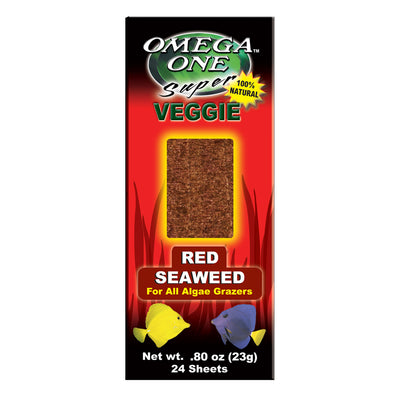 Omega One Super Veggie Seaweed Sheets - Red - 24 pk