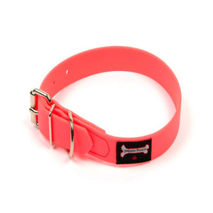 Smoochy Poochy - Polyvinyl Waterproof Collar - Hot Pink