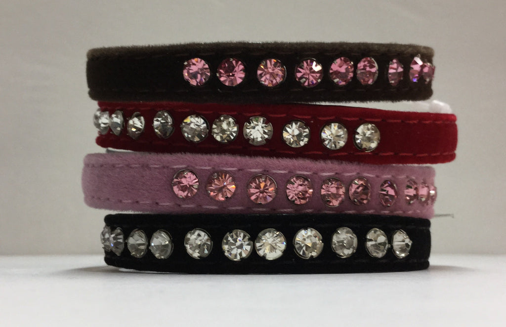 10mm Rhinestone Collar for Small Dogs