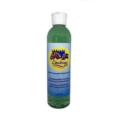 Citrobug - Insect Repellent Shampoo with Essential Oils for Dogs and Horses