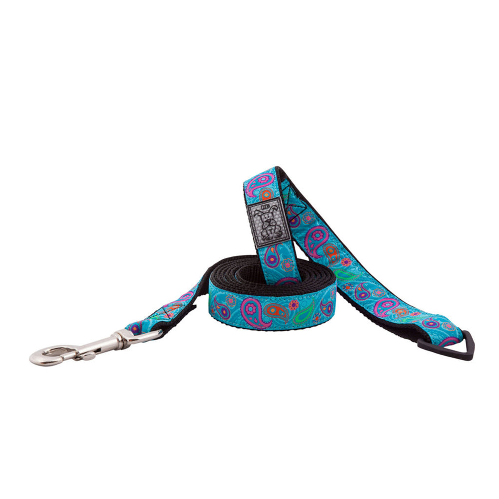 RC Pets - Tropical Paisley Leash NEW PATTERN