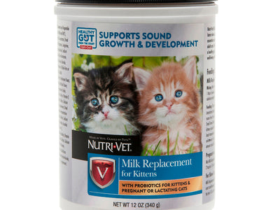 Nutri-Vet® Milk Replacement Powder for Kittens 12 oz