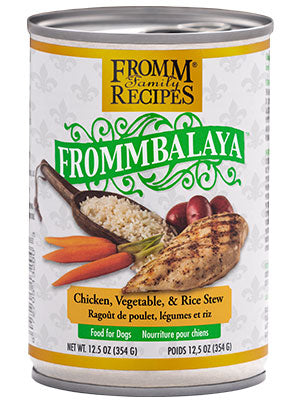 Fromm Frommbalaya Chicken , Vegetable & Rice Stew 12.5 oz Dog Wet