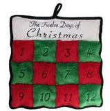 Kyjen Xmas 12 Days of Christmas Squeaker Mat Dog Toy SALE