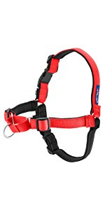 PetSafe Deluxe Easy Walk No Pull Harness Large 26 inch - 36 inch Rose Red