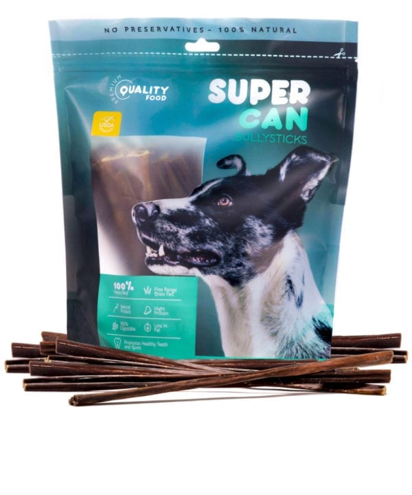 SuperCan - Beef Jerky Gullet Sticks