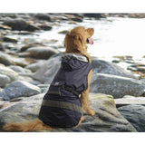 One For Pets - Dog Safety Hooded Raincoat - Navy
