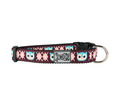 RC Pets Product Clip Collar XS 5/8 Fox Pattern