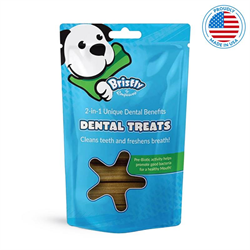 Bristly Pre-Biotic Enzymatic Dental Treats 475g - Beef Flavour