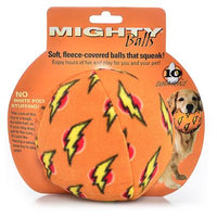 MIGHTY BALLS ORANGE DOG TOY