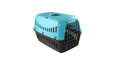 Bergamo - Gipsy Metal Door Pet Carrier - Light Blue