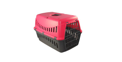 Bergamo - Gipsy Plastic Door Pet Carrier - Red