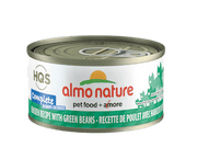 Almo Nature - HQS Complete - Chicken with Green Beans 2.47 oz / 70g
