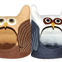 Dharma Dog Karma Cat Owl bed