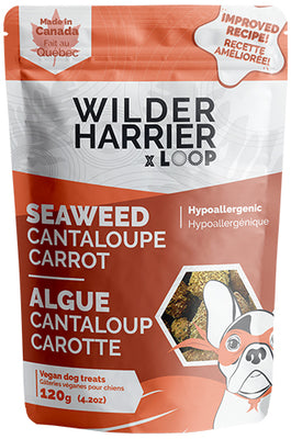 Wild Harrier - Seaweed Vegan Biscuits - Cantaloupe Carrot NEW