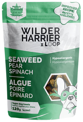 Wild Harrier - Seaweed Vegan Biscuits - Pear Spinach NEW