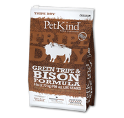 PETKIND GREEN TRIPE AND BISON DOG FOOD