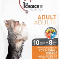 1st Choice Nutrition Maintenance Toy and Small Breed Adult Chicken Formula