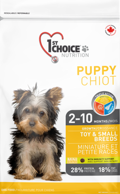 1st Choice Nutrition Growth Toy and Small Breed Puppy Chicken Formula
