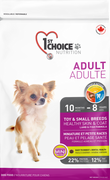 1st Choice Nutrition Healthy Skin & Coat Toy and Small Breed Adult Lamb Formula