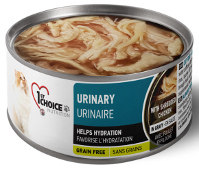 1st Choice Nutrition Canned Cat Urinary Adult Shredded Chicken