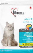 1st Choice Nutrition Healthy Skin & Coat Adult Cat Salmon Formula