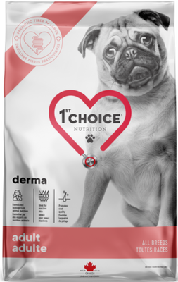 1st Choice Nutrition Derma All Breed Adult Dog Salmon Formula
