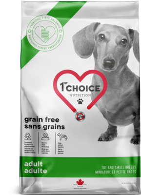 1st Choice Nutrition Grain Free Toy & Small Breed Adult Chicken Formula