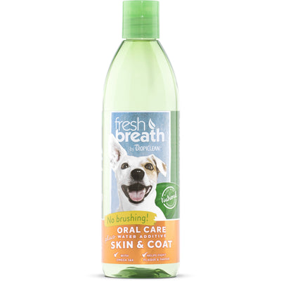 Tropiclean - Fresh Breath - Oral Care Water Additive Plus Skin & Coat