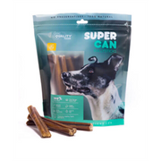 "Super Can Standard 6"" Bully Sticks 10pk"