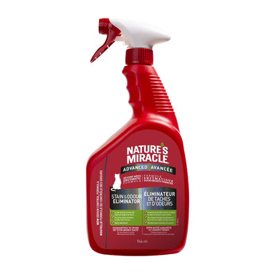 Nature's Miracle - Just for Cats - Stain & Odor Remover Advanced Spray