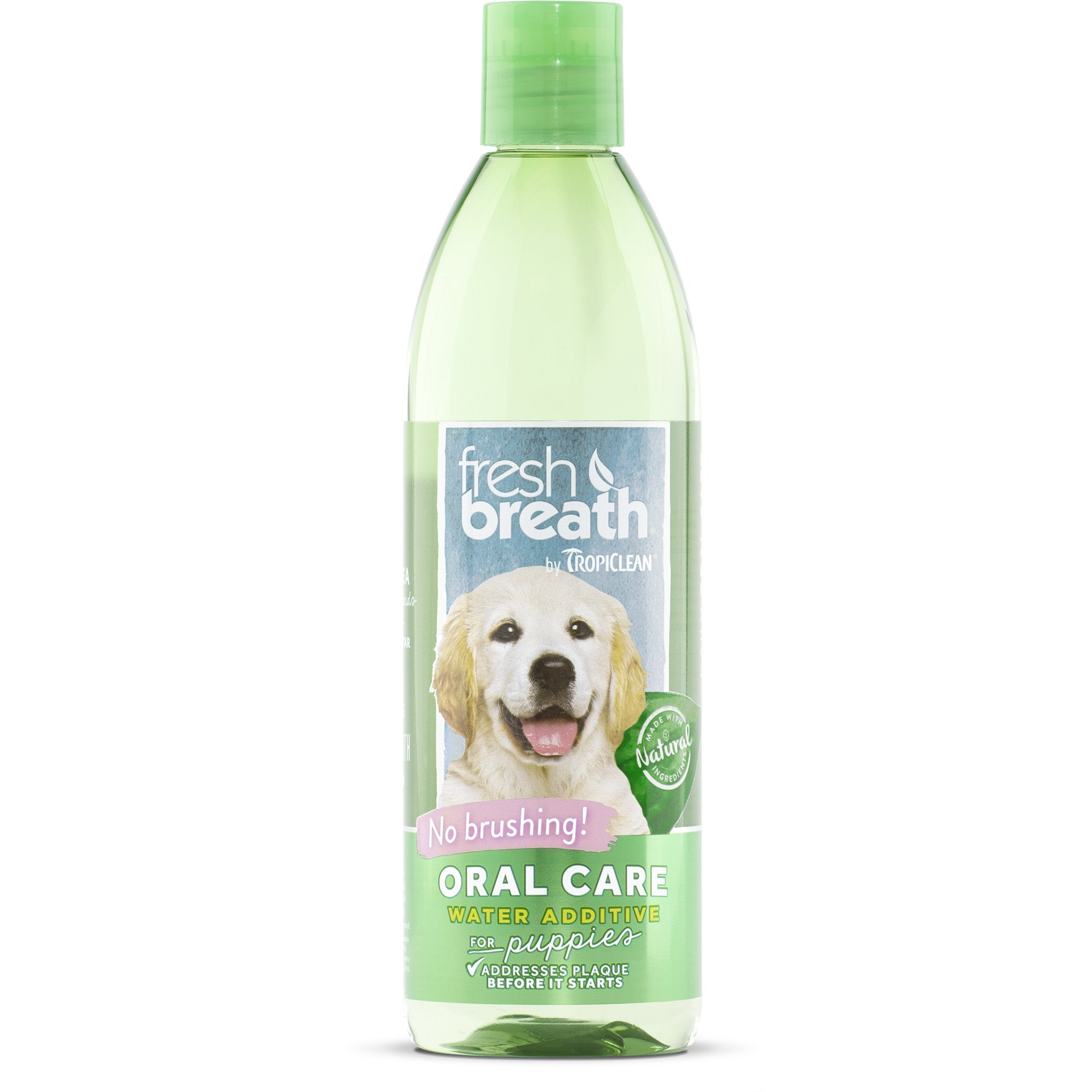 Tropiclean - Fresh Breath - Oral Care Water Additive for Puppies