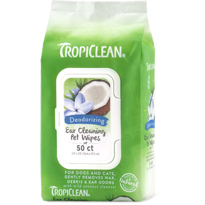 Tropiclean - Ear Cleaning Pet Wipes