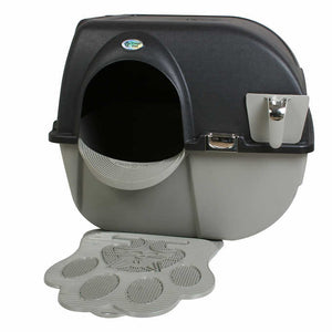 Omega Paw Self Cleaning Litter Box Black