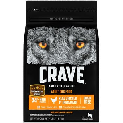 Crave Adult Dog Grain Free Chicken 1.8 kg