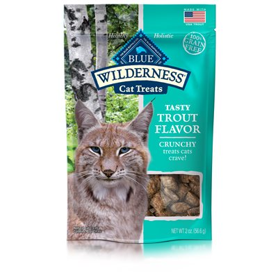 Blue Wilderness Trout Flavor Crunchy Treats 2 oz