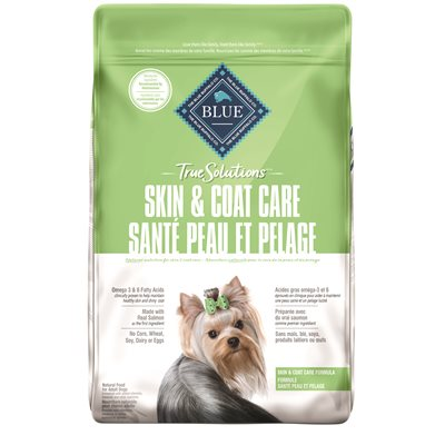BLUE True Solutions Skin & Coat Care Adult Dog Salmon Dog Foods
